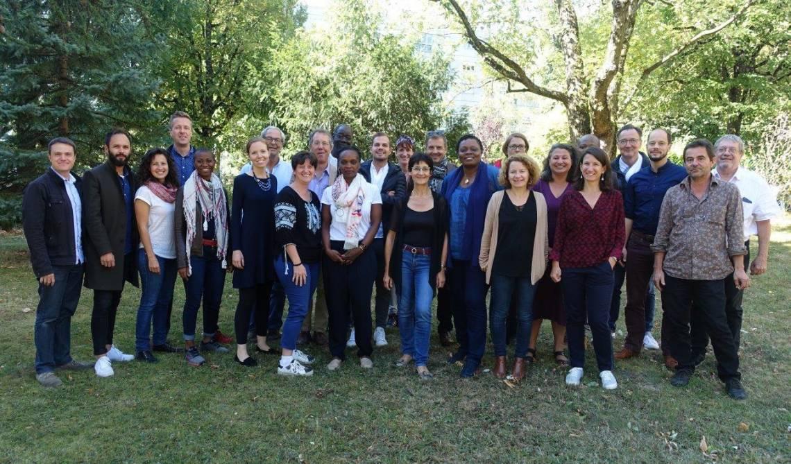 L'équipe de la Fondation Hirondelle à Lausanne en septembre 2018.