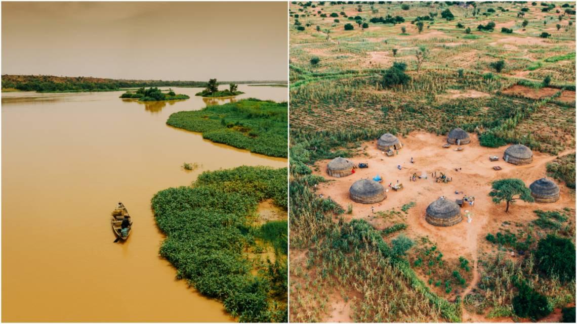 Landscapes of Niger.