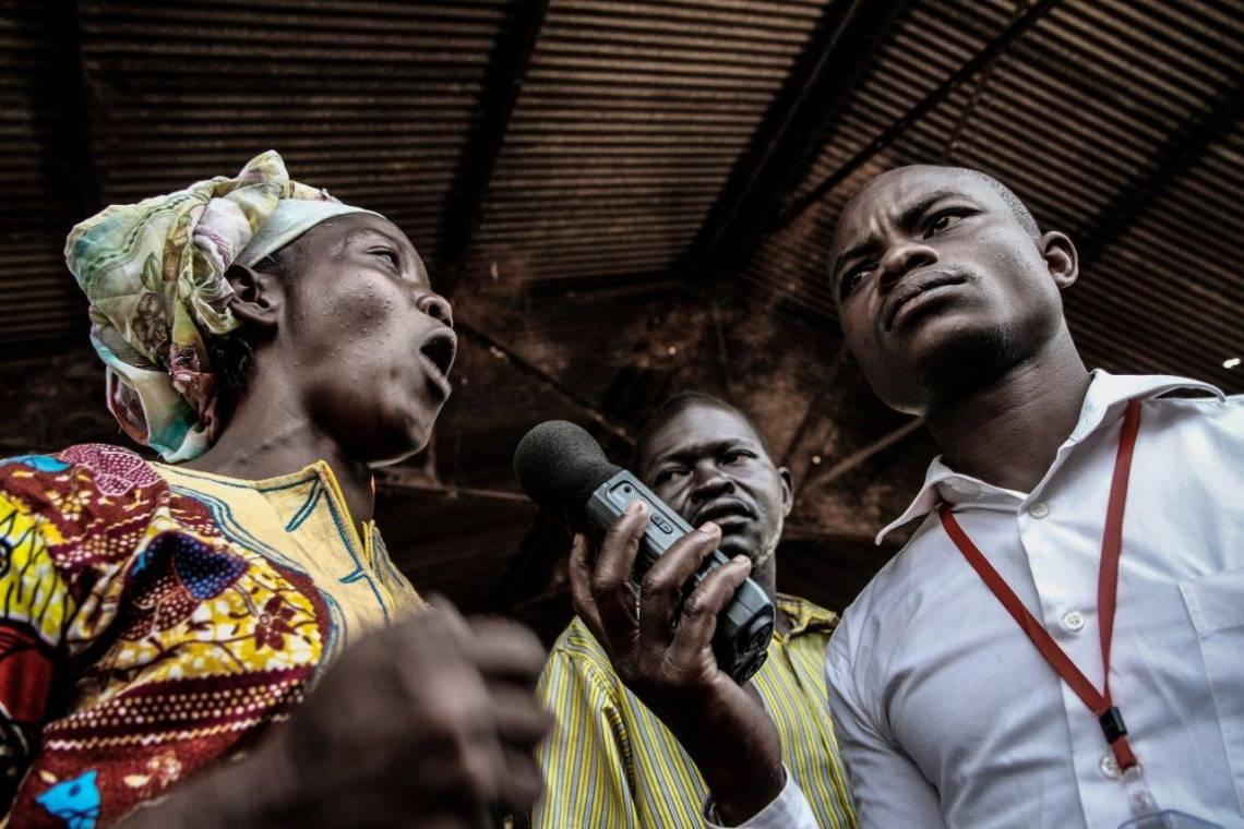 Radio Ndeke Luka reporting in Bangui, Central African Republic.