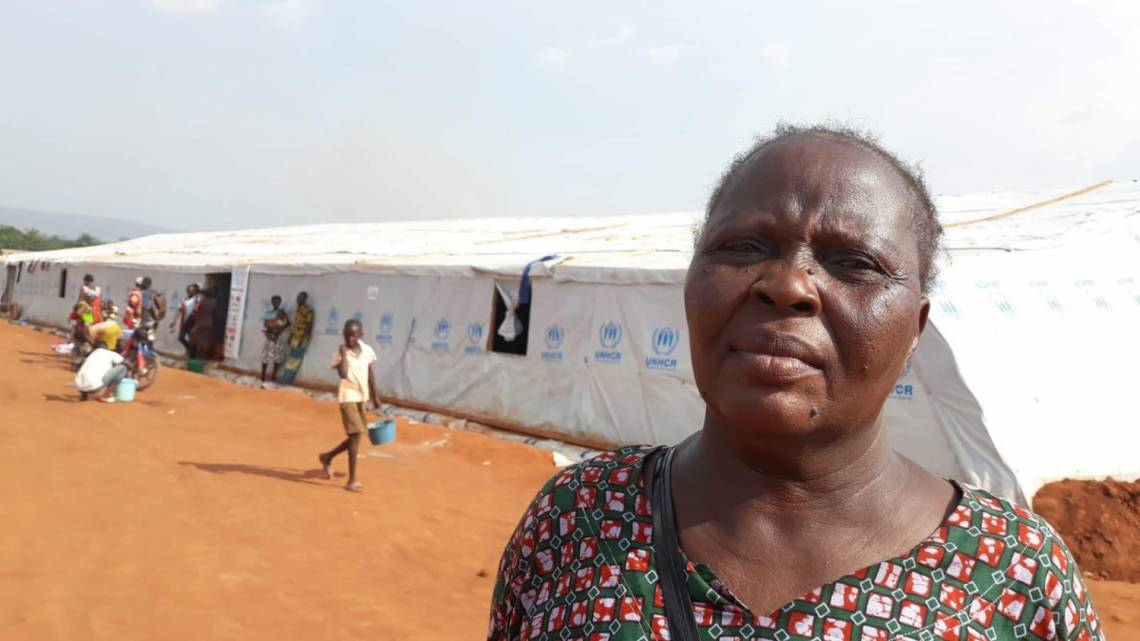 Marie Kagbi, a 47-year-old widow with 5 children, was forced to leave her neighbourhood in Bangui after the flood. She testifies about the special programmes produced by Radio Ndeke Luka.