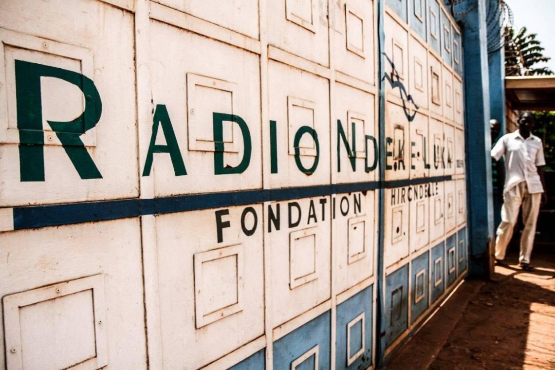 Radio Ndeke Luka, Bangui.