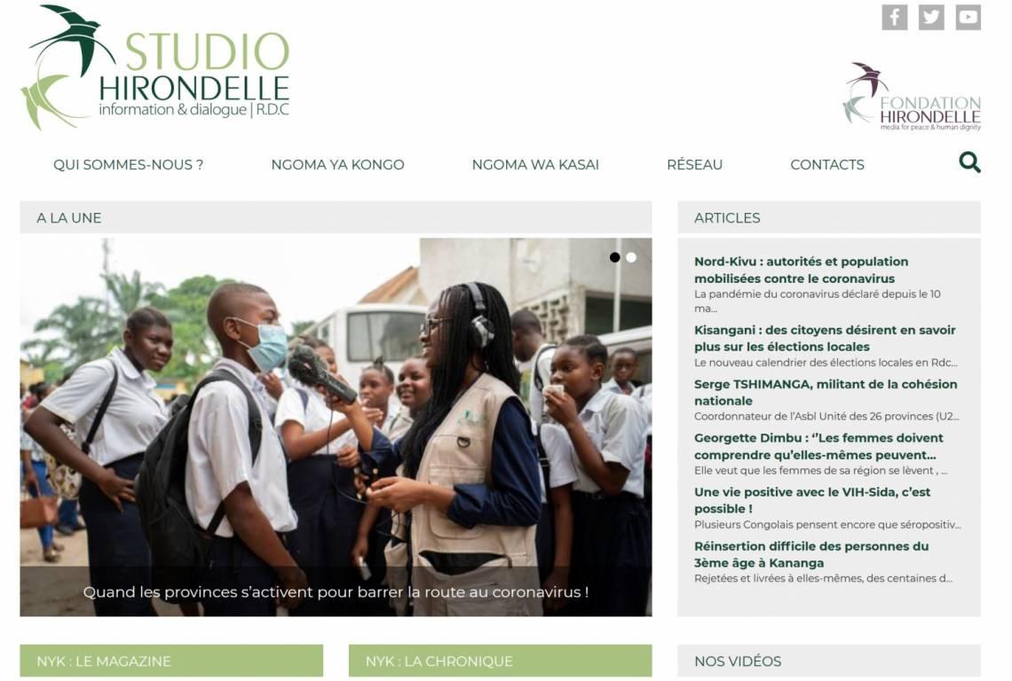 Notre nouveau site web d'informations nationales et régionales en RDC
