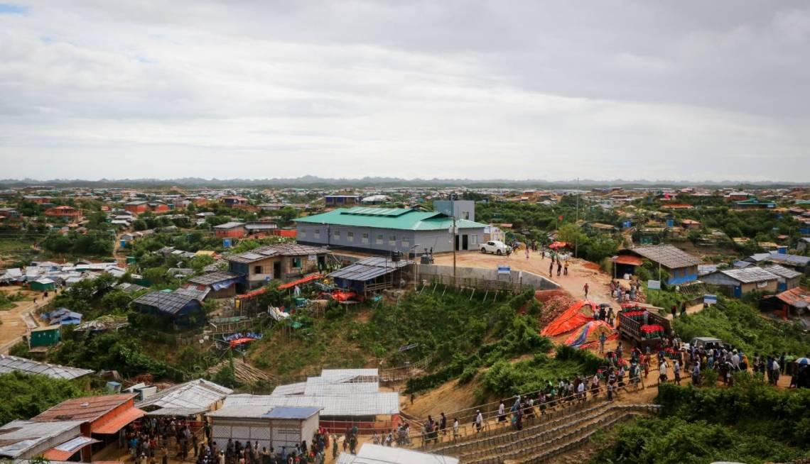 Les camps de réfugiés rohingyas au Bangladesh