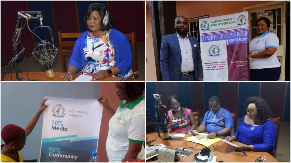 Awareness-raising activities and productions implemented by CCMN teams and member medias, with the support of Fondation Hirondelle.