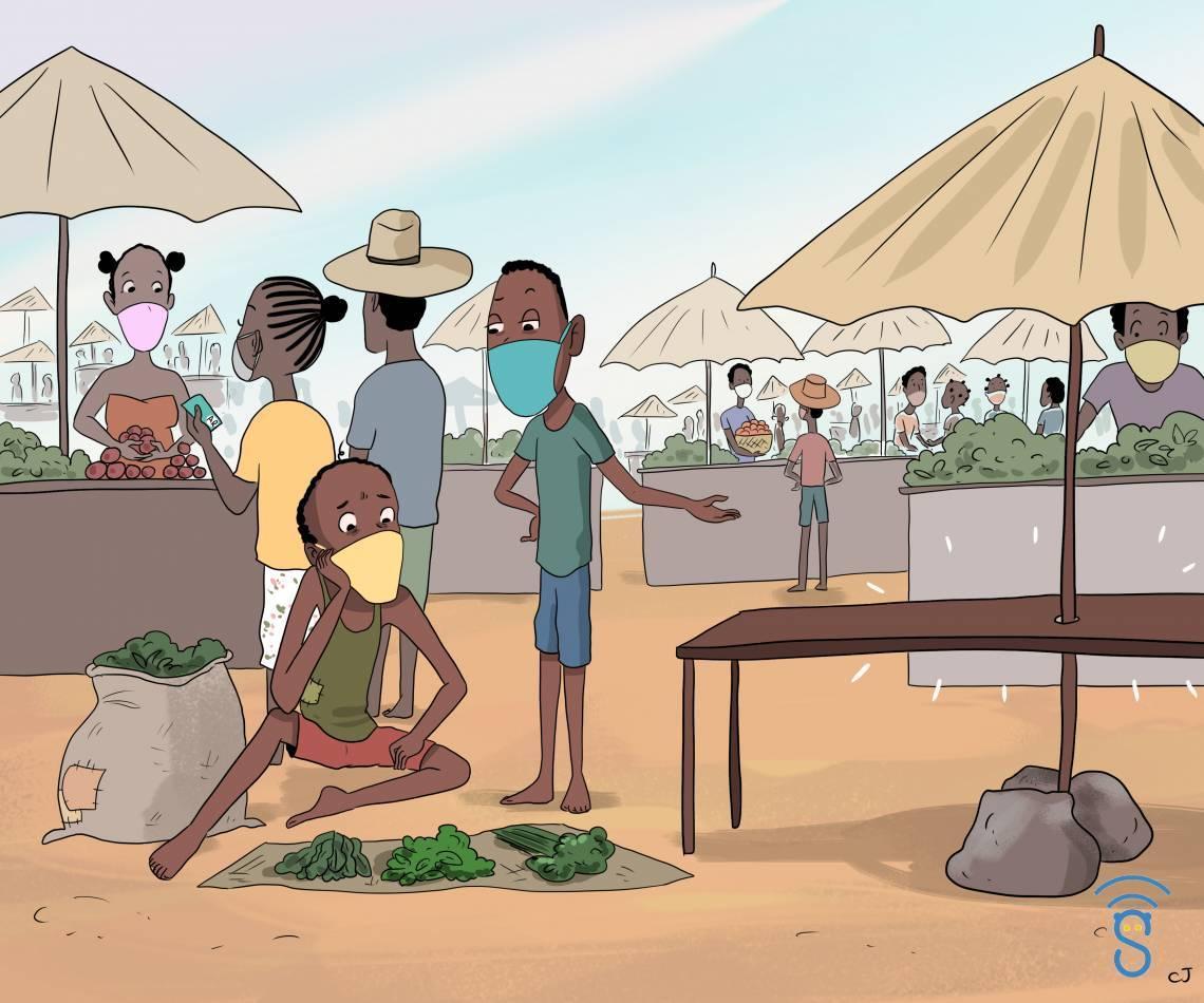 Image d'illustration de l'un des épisodes du feuilleton radio produit par Studio Sifaka, pour acompagner sa diffusion sur son site web.