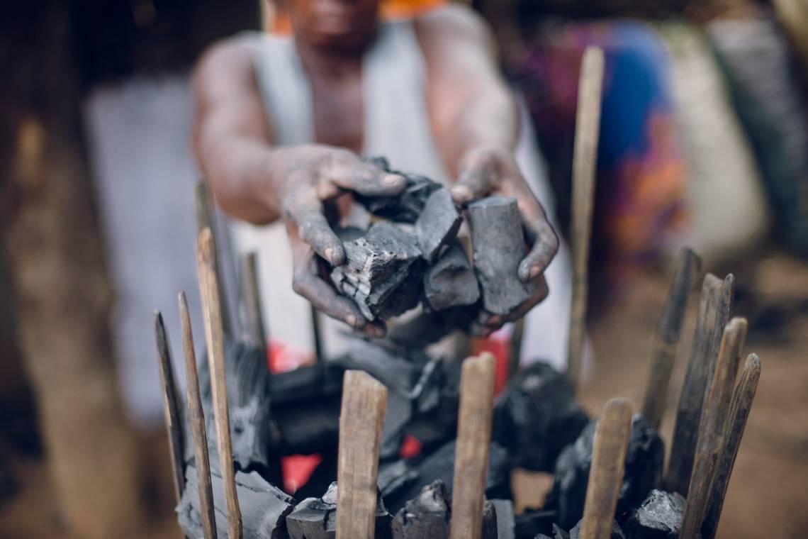 Production du charbon de bois en Guinée-Conakry.