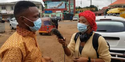 Media working with local communities against COVID in Uganda, Guinea and Sierra Leone