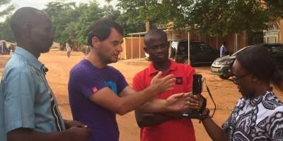 Changement climatique : formation de journalistes à Niamey