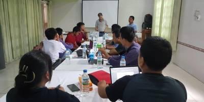 Notre formation sur le journalisme et les Droits Humains dans l'Etat de Chin, au Myanmar