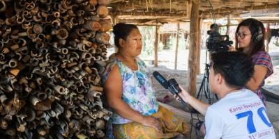 Au Myanmar, des journalistes sous pression