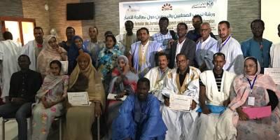 Le journalisme pour désamorcer les rumeurs : notre formation en Mauritanie