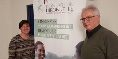 Tony Burgener, nouveau Président du Conseil de la Fondation Hirondelle