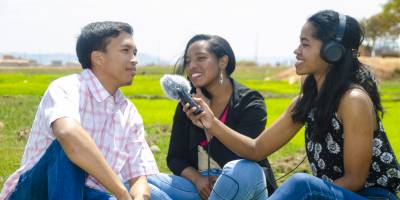 Launching of Studio Sifaka, a new radio program for Youth in Madagascar