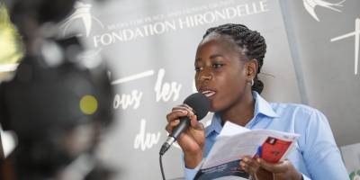 Women journalists workshop by Studio Hirondelle DRC