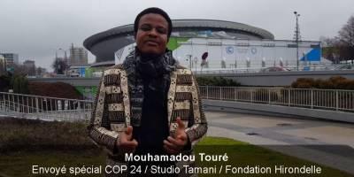 Peu d'engouement pour la COP24 à Katowice, témoigne un journaliste malien