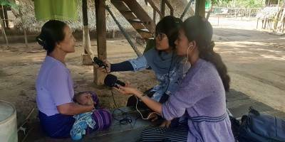 Coverage of Human Rights in Myanmar : our training of journalists in Mon State
