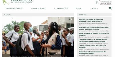 Our new website for national and regional news in the DRC