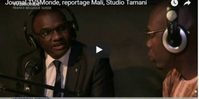Reportage de TV5Monde sur Studio Tamani au Mali