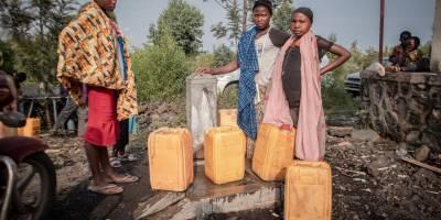 Reportage du Studio Hirondelle RDC avec les déplacés du Nyiragongo