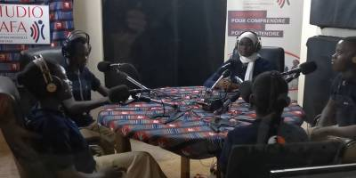 Media Education with Studio Yafa for high school students in Ouagadougou