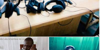 En RCA, Radio Ndeke Luka forme à distance ses radios partenaires sur la réponse au Covid-19