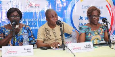 Discussion about women's involvment in elections in DRC