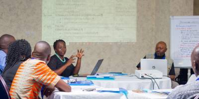 """Journalism and Elections"" training at Studio Hirondelle-DRC in Kinshasa"