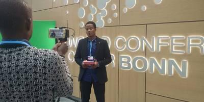 L'ouverture de la COP23 vue par un journaliste malien