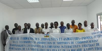 Prévention Ebola et Polio en RCA : Radio Ndeke Luka et l'UNICEF forment les radios communautaires