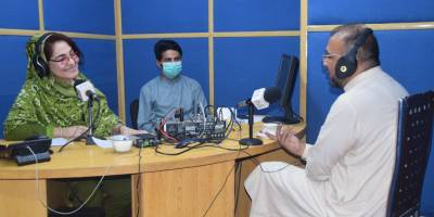 Our support to the media in northwest Pakistan to provide reliable information on the COVID19 pandemic