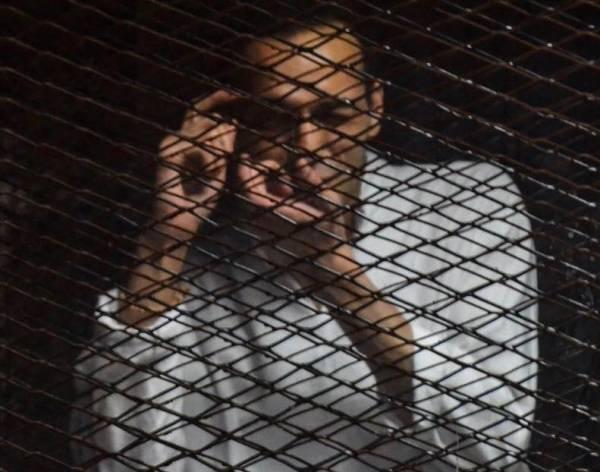 Photojournalist Mahmoud Abu Zeid, aka Shawkan, jailed for 3 years in Egypt for doing his job.