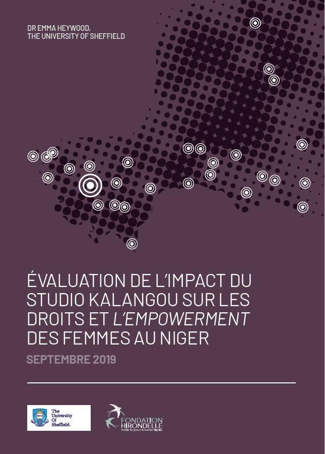 Etude sur l'impact de Studio Kalangou sur les droits des femmes et leur émancipation au Niger