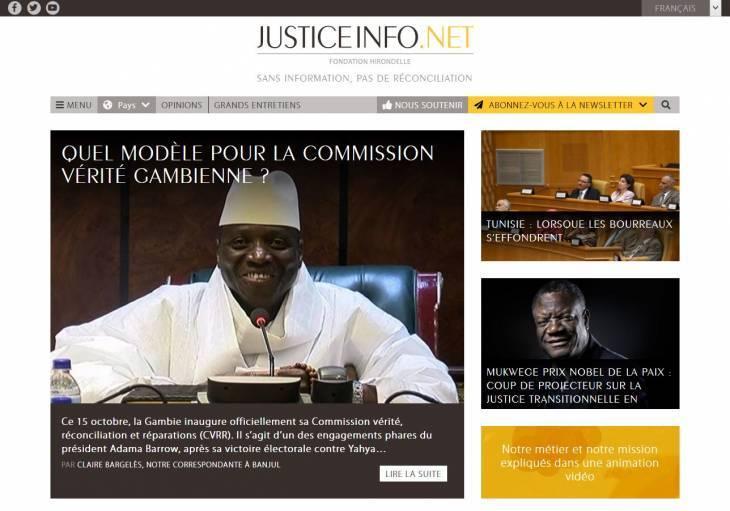 Un nouveau site web pour Justice Info, plus fluide et intuitif