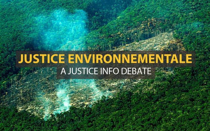 A discussion on Environmental Justice organized par Justice Info in The Hague