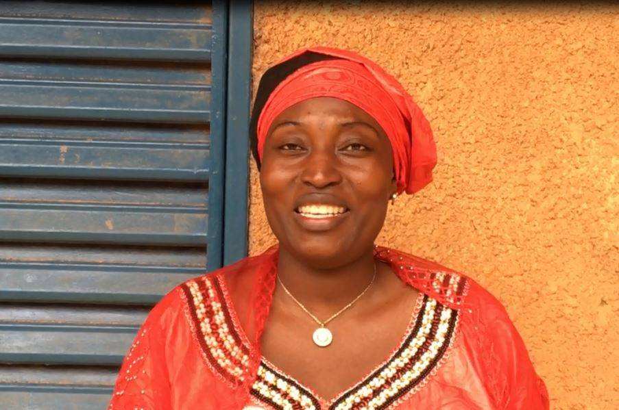 Zouera Nounou Hamidou, Director of Radio Scout in Niger, a partner of Studio Kalangou, Fondation Hirondelle's radio program in this country.